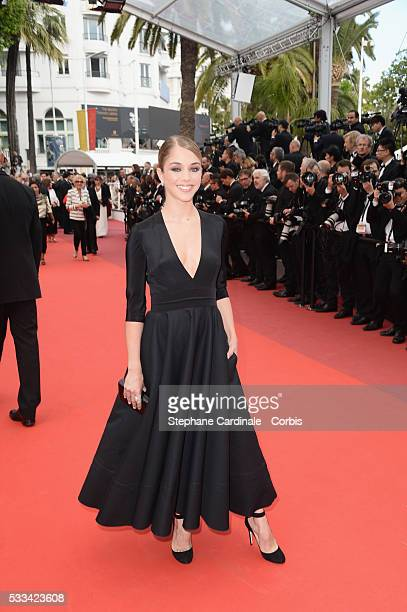 Alice Isaaz attends the Closing Ceremony of the 69th annual Cannes Film Festival at the Palais des Festivals on May 22 2016 in Cannes France