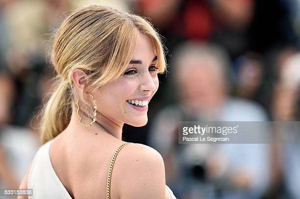 Alice Isaaz attends the Elle Photocall during the 69th annual Cannes Film Festival at the Palais des Festivals on May 21 2016 in Cannes France