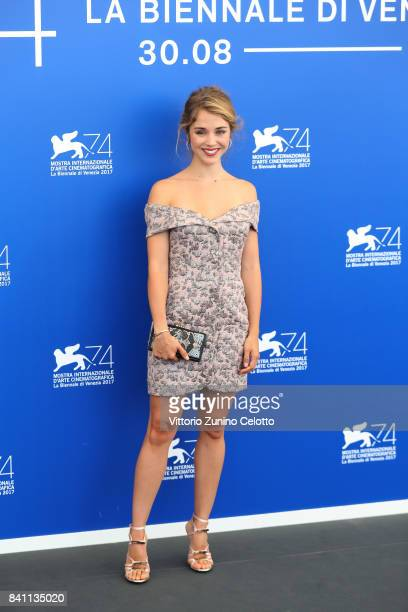 Alice Isaaz attends the 'Endangered Species ' photocall during the 74th Venice Film Festival at Sala Casino on August 31 2017 in Venice Italy