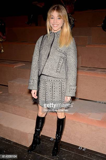 Alice Isaaz attends the Valentino show as part of the Paris Fashion Week Womenswear Fall/Winter 2016/2017 on March 8 2016 in Paris France