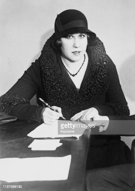 Alice Kenny Diamond wife of the Irish American gangster Jack 'Legs' Diamond circa 1930