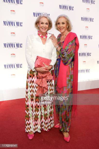 Alice Kessler and Ellen Kessler alias Kessler Zwillinge at the premiere of Mamma Mia Das Musical at Stage Theater des Westens on September 22 2019 in...