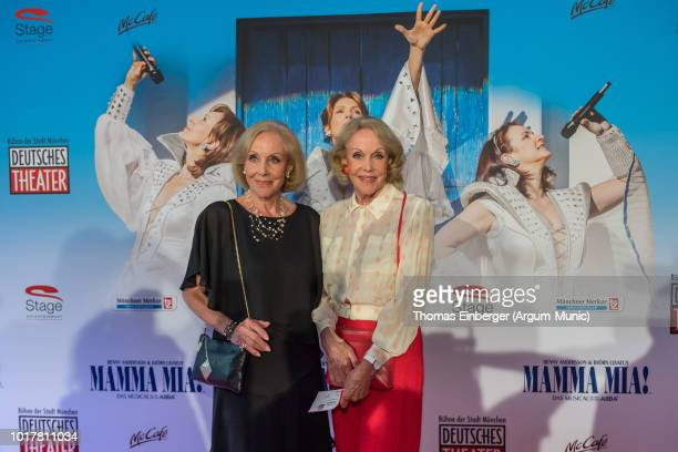 Alice Kessler and Ellen Kessler at the 'MAMMA MIA' musical premiere at Deutsches Theatre on August 16 2018 in Munich Germany Photo by Thomas...