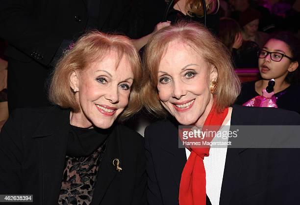 Alice Kessler and Ellen Kessler attend the 'Wunderwelt der Manege' Circus Krone Premiere on February 1 2015 in Munich Germany