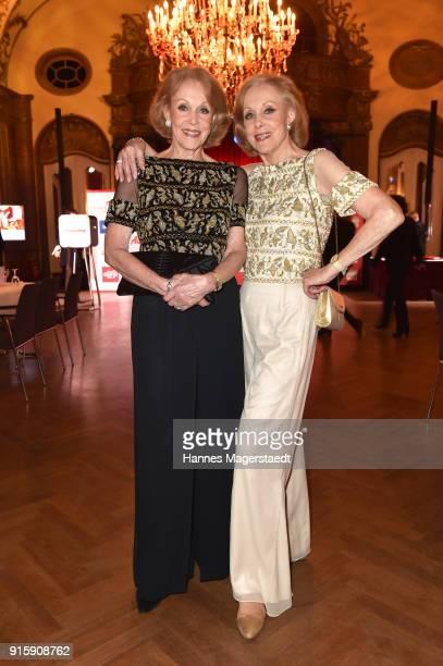 Alice Kessler and Ellen Kessler during the 70th anniversary celebration of the tabloid newspaper Abendzeitung at Deutsches Theatre on February 8 2018...