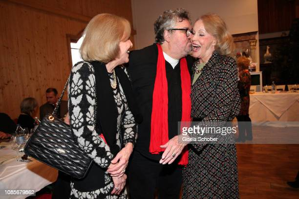 Alice Kessler Michael Schanze Ellen Kessler during the prebirthday party of Bibi Johns My last day 89 at Gut Aiderbichl on January 20 2019 in...