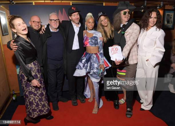 "Alice Krige, Sam Pressman, Malcolm McDowell, Philip Colbert, Kota Eberhardt, Charlotte Colbert, Martin Creed and Amy Manson attend the ""She Will"" UK..."