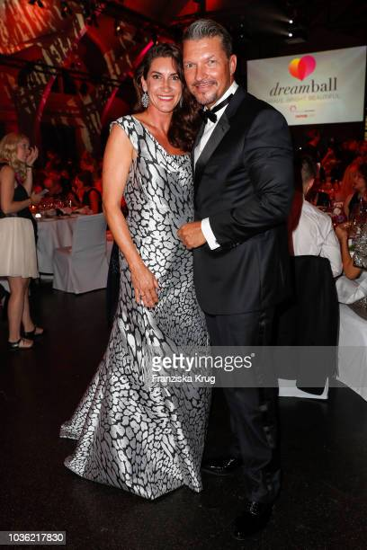 Alice Krueger and Hardy Krueger Jr during the Dreamball 2018 at WECC Westhafen Event Convention Center on September 19 2018 in Berlin Germany