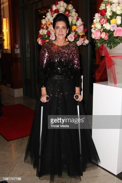 Alice Krueger attends the 118th Berlin Press Ball on January 12 2019 in Berlin Germany
