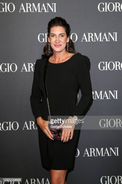 Alice Krueger during the Boutique Trunk Show Giorgio's after party at Parkcafe on September 13 2018 in Munich Germany