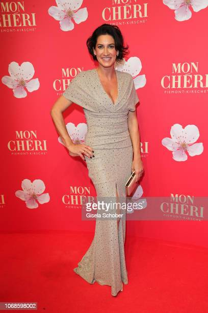 Alice Krueger during the Mon Cheri Barbara Tag at Alte Bayerische Staatsbank on December 4 2018 in Munich Germany