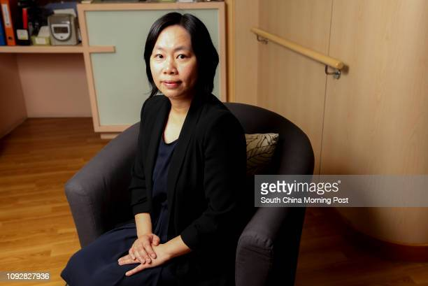 Alice Lau Oisze Chief Executive of The Lok Sin Tong Benevolent Society works in the nursing home in Mong Kok 28FEB17 SCMP / Xiaomei Chen