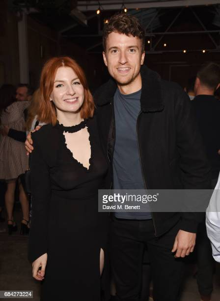 Alice Levine and Greg James attend the launch of new book Jackson Levine Round To Ours by Laura Jackson and Alice Levine at Hoxton Docks on May 17...