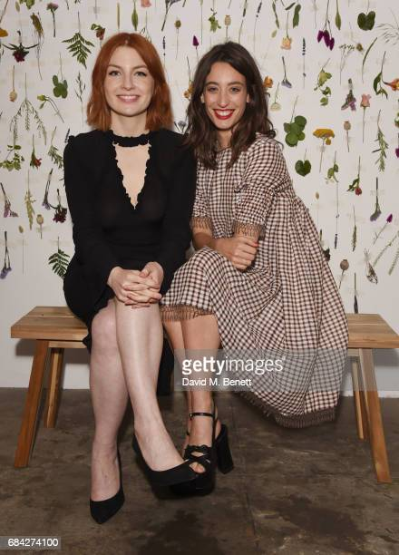 Alice Levine and Laura Jackson attend the launch of new book 'Jackson Levine Round To Ours' by Laura Jackson and Alice Levine at Hoxton Docks on May...