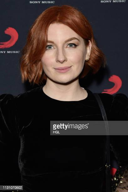 Alice Levine arrives at The BRIT Awards 2019 Sony after party held at Aqua Shard on February 20 2019 in London England