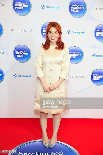 Alice Levine attends the Barclaycard Mercury Prize nominations launch at The Hospital Club on September 10 2014 in London England