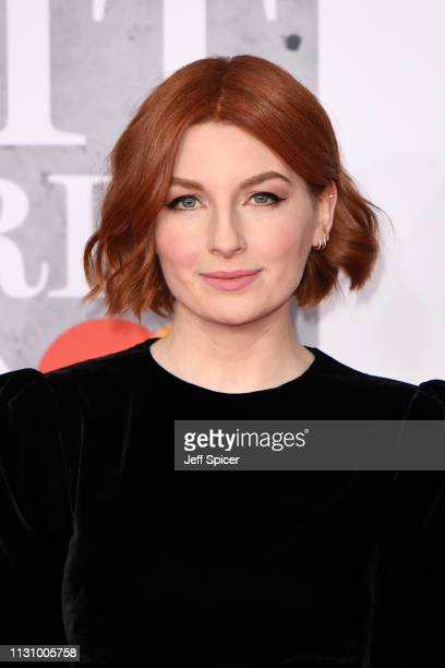 Alice Levine attends The BRIT Awards 2019 held at The O2 Arena on February 20 2019 in London England