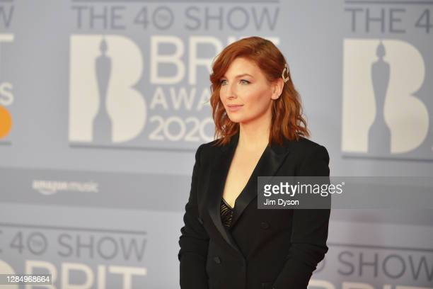 Alice Levine attends The BRIT Awards 2020 at The O2 Arena on February 18 2020 in London England