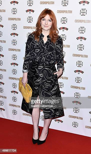 Alice Levine attends the Cosmopolitan Ultimate Women Of The Year Awards at One Mayfair on December 2 2015 in London England