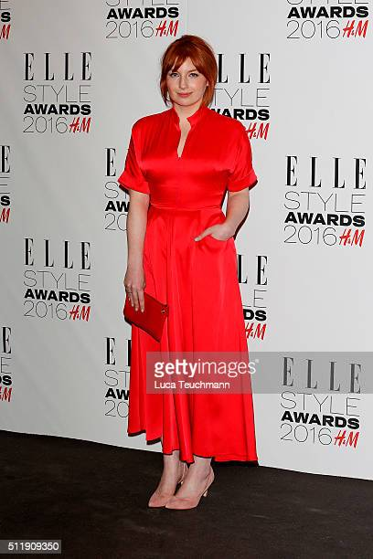 Alice Levine attends The Elle Style Awards 2016 on February 23 2016 in London England