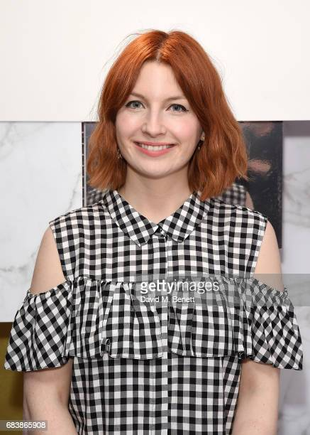 Alice Levine attends the House of Fraser AW17 Press Show at The Vinyl Factory on May 16 2017 in London England