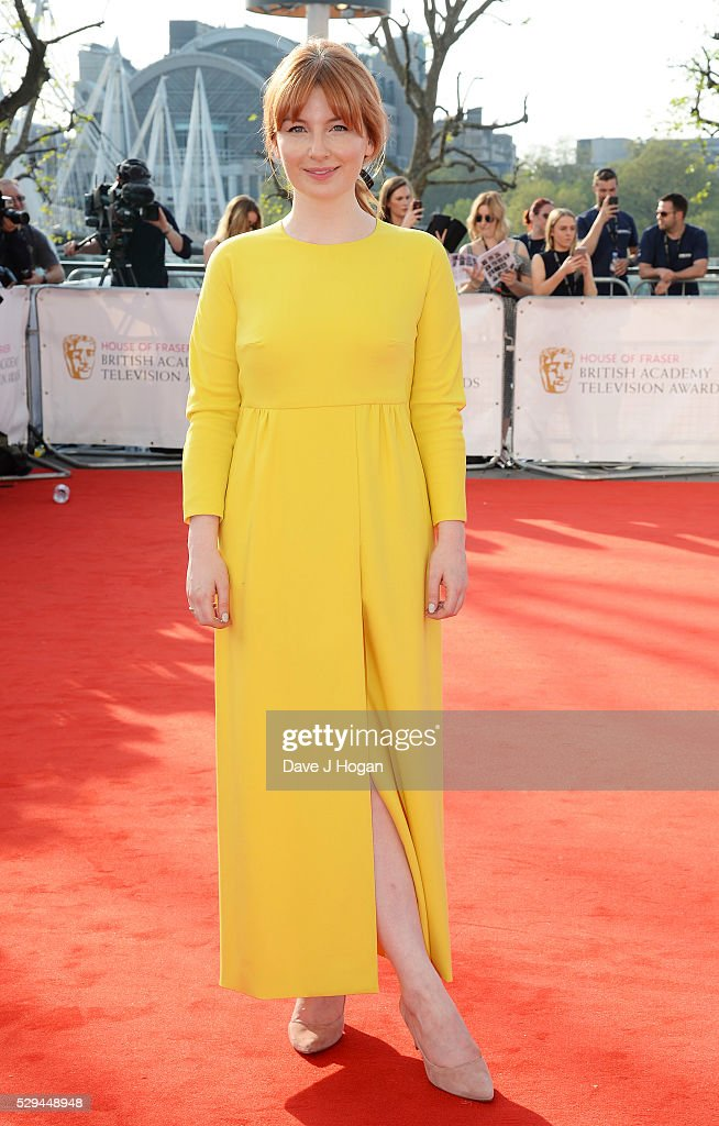 Alice Levine attends the House Of Fraser British Academy Television Awards 2016 at the Royal Festival Hall on May 8, 2016 in London, England.