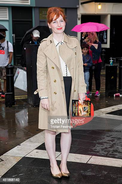 Alice Levine attends the press night for 'The Curious Incident Of The Dog In The NightTime' at Gielgud Theatre on July 8 2014 in London England