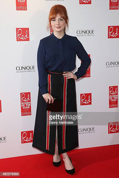 Alice Levine attends the Red Women Of The Year Awards at Skylon Grill on October 12 2015 in London England