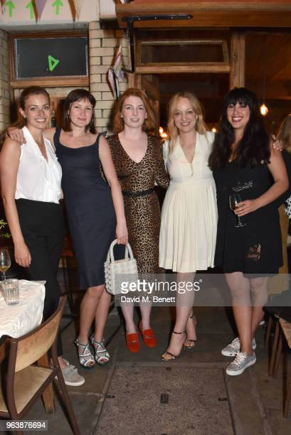 Alice Levine Melissa Hemsley and guests attend the launch of the Jackson Levine For Habitat serveware collection on May 30 2018 in London England