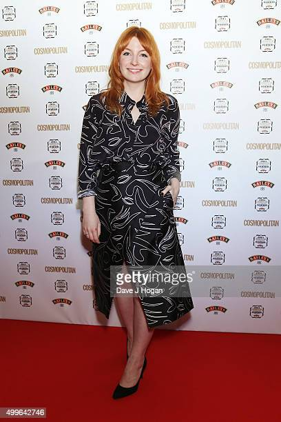 Alice Levine poses for a photo during the Cosmopolitan Ultimate Women Of The Year Awards at One Mayfair on December 2 2015 in London England