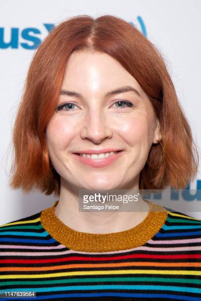 Alice Levine visits SiriusXM Studios on May 07 2019 in New York City