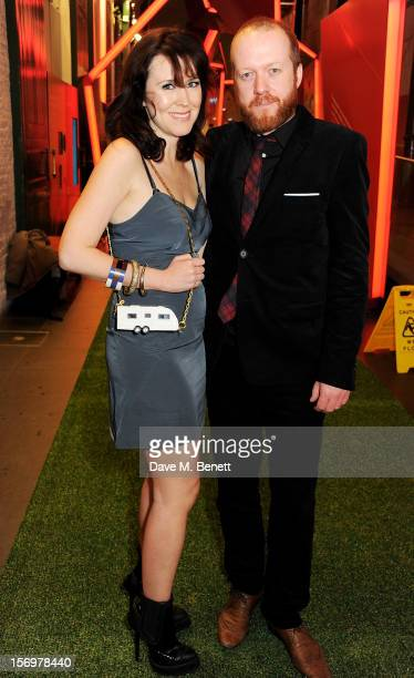 Alice Lowe and Steve Oram attend the UK Premiere of 'Sightseers' in association with Stella Artois at the London Transport Museum on November 26 2012...
