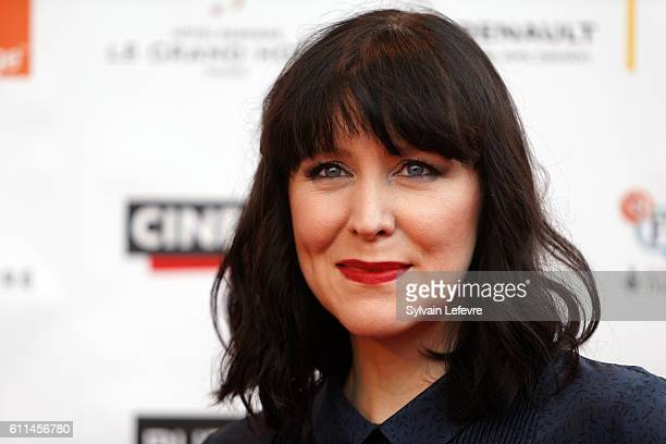 Alice Lowe attends opening ceremony of 27th Dinard British Film Festival on September 29 2016 in Dinard France