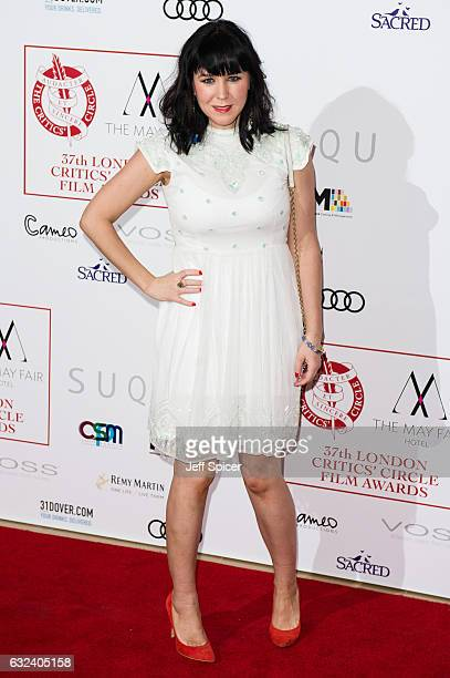 Alice Lowe attends The London Critic's Circle Film Awards at the May Fair Hotel on January 22 2017 in London United Kingdom