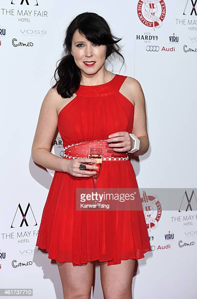 Alice Lowe attends The London Critics' Circle Film Awards at The Mayfair Hotel on January 18 2015 in London England