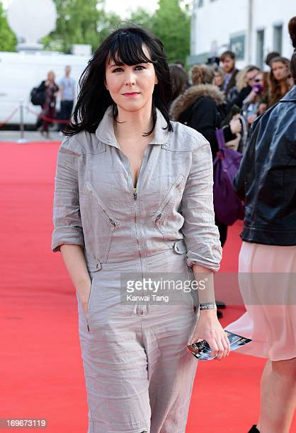 Alice Lowe attends the World film premiere of The Stone Roses Made Of Stone at Victoria Warehouse on May 30 2013 in Manchester England
