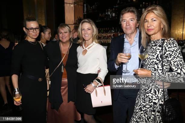 Alice Lustig Ellie Manko Michelle Russell Johnson Carlo Lazzari and Diane Alfano attend PAGANINI HONORS PAGANINI A Tribute To Niccolo Paganini By...