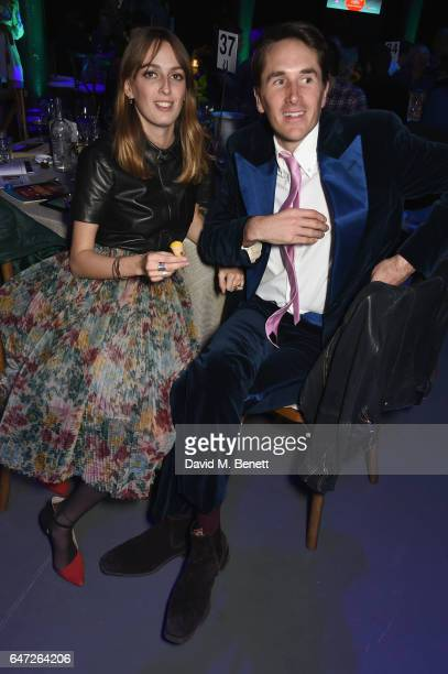 Alice Manners and Otis Ferry attend at a Night of Country at The Roundhouse on March 2 2017 in London England