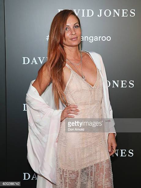 Alice MCCall arrives ahead of the David Jones Christmas cocktail party at the new Barangaroo store on November 2 2016 in Sydney Australia
