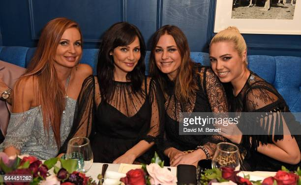 Alice McCall Natalie Imbruglia Yasmin Le Bon and Amber Le Bon attend Alice McCall Fall 2017 Collection Launch Vip Dinner at Albert's on February 23...