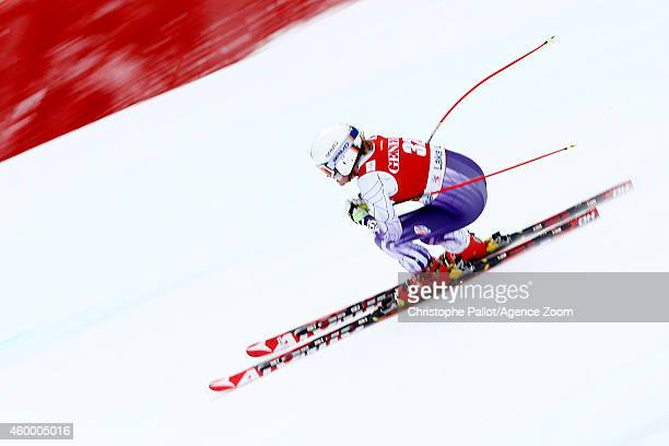 Alice McKennis of the USA competes during the Audi FIS Alpine Ski World Cup Women's Downhill on December 05 2014 in Lake Louise Canada
