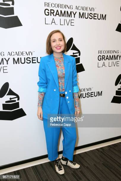 Alice Merton attends Spotlight Alice Merton at The GRAMMY Museum on May 10 2018 in Los Angeles California