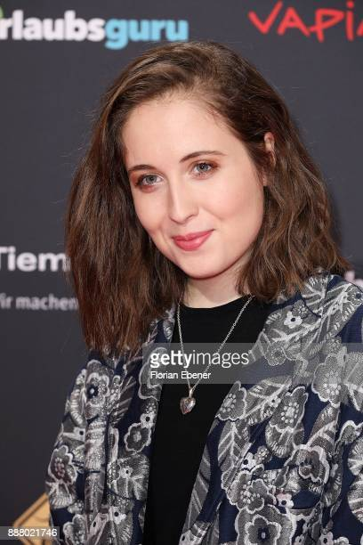 Alice Merton attends the 1Live Krone at Jahrhunderthalle on December 7 2017 in Bochum Germany