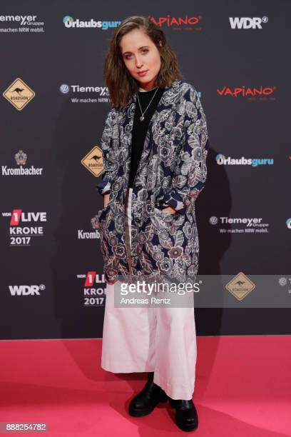 Alice Merton attends the 1Live Krone radio award at Jahrhunderthalle on December 7 2017 in Bochum Germany