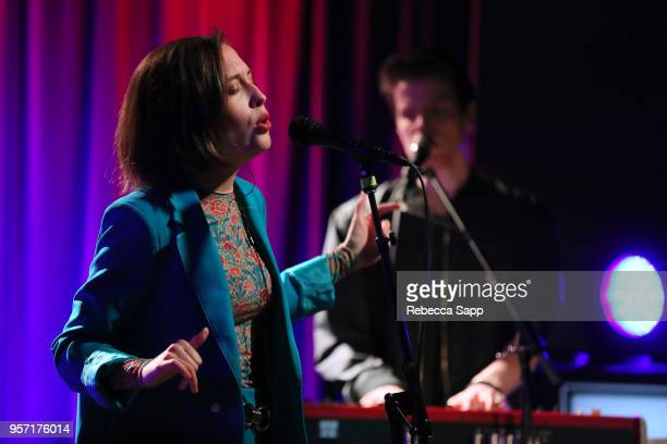 Alice Merton performs at Spotlight Alice Merton at The GRAMMY Museum on May 10 2018 in Los Angeles California