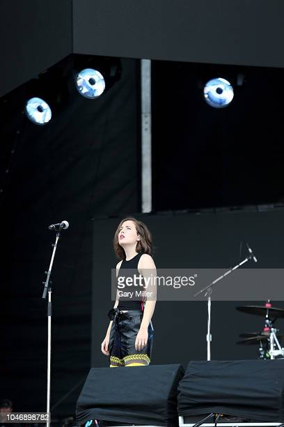 Alice Merton performs in concert during the ACL Music Festival at Zilker Park on October 6 2018 in Austin Texas