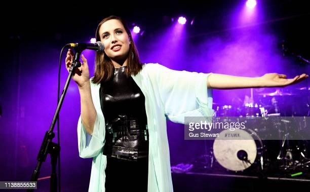 Alice Merton performs on stage at The Scala on March 24 2019 in London England
