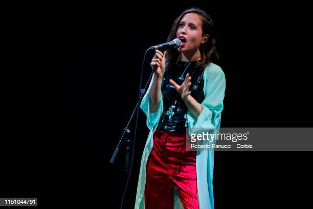 Alice Merton performs on stage on May 22 2019 in Rome Italy