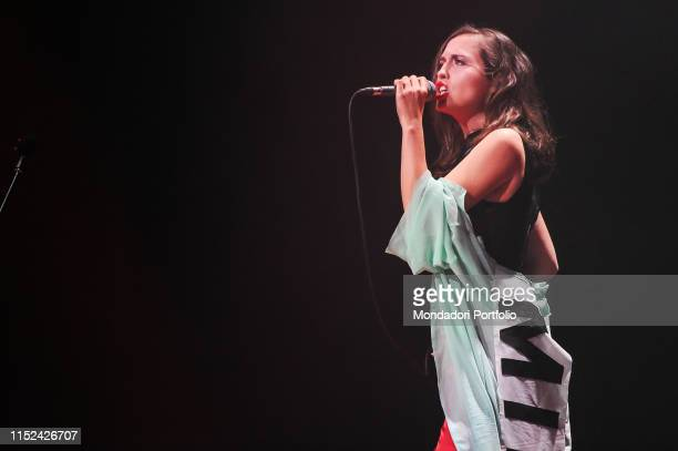 Alice Merton performs onstage in the Auditorium Parco della Musica on May 22nd 2019 in Rome Italy