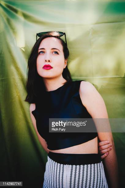 Alice Merton poses for a portrait during the 2019 Coachella Valley Music And Arts Festival on April 12 2019 in Indio California